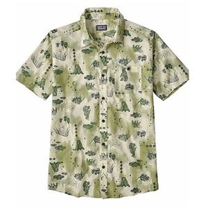 Patagonia Shirts - Patagonia Short Sleeves Button Down Medium Shirt